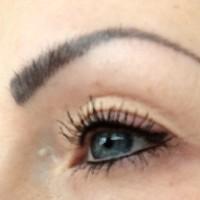 Semi permanent eyebrow